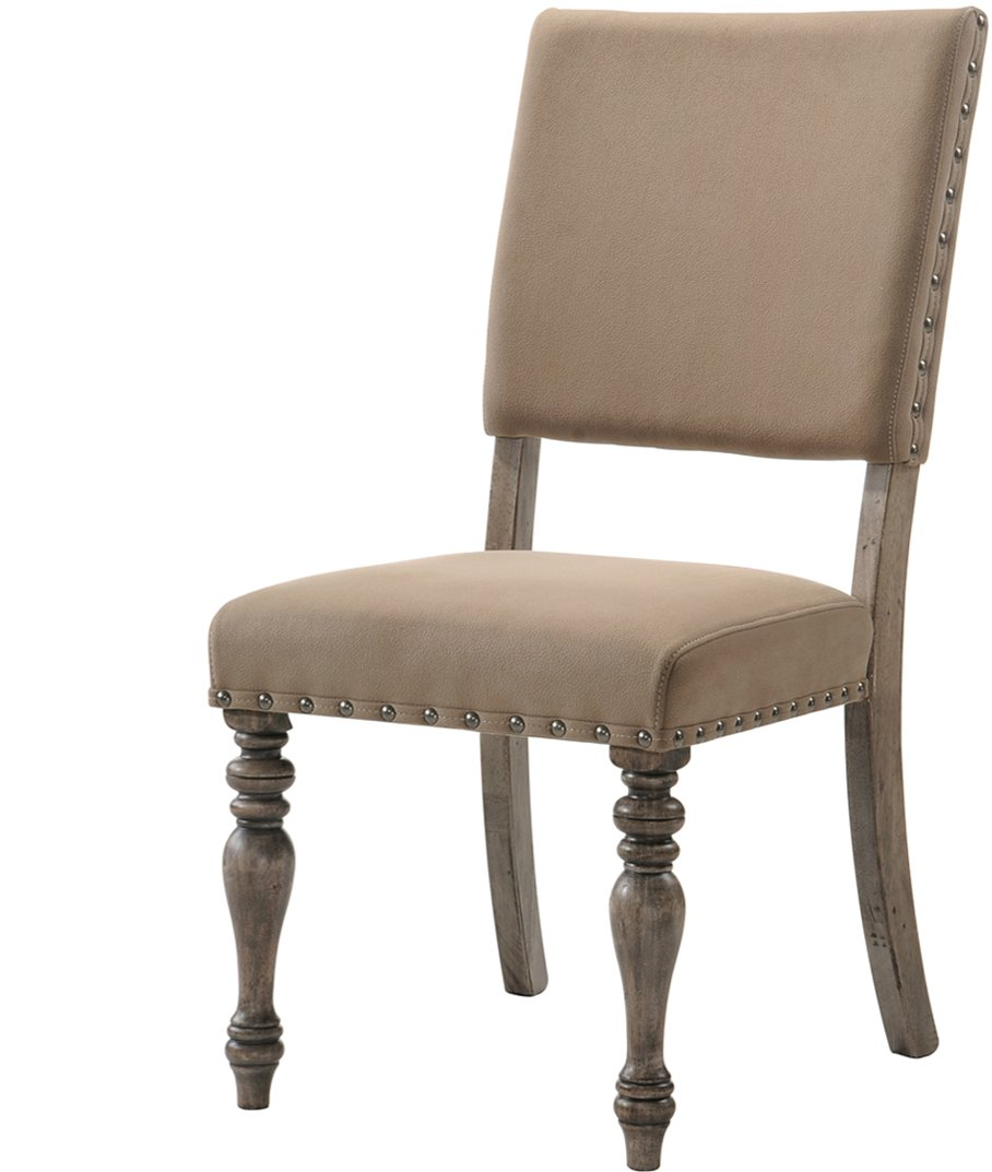 HM8005 18/SCRIPTCHR Driftwood Script Dining Chair   Metropolitan Collection