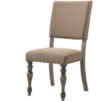 HM8005-18/SCRIPTCHR Driftwood Script Dining Chair - Metropolitan Collection
