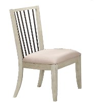 Clearance Linen Dining Chair - Bohemian
