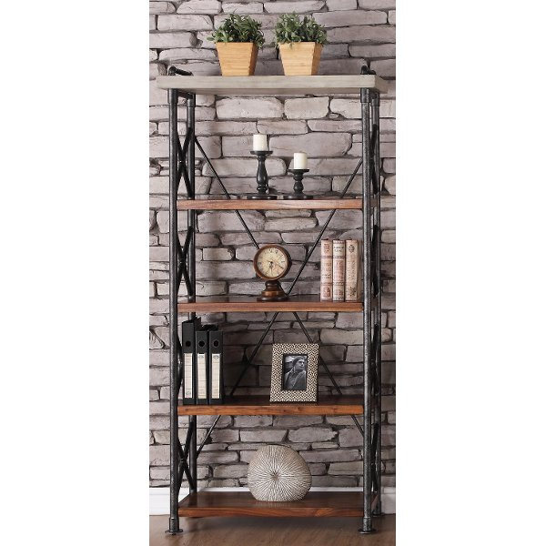36 Inch Contemporary Bookcase
