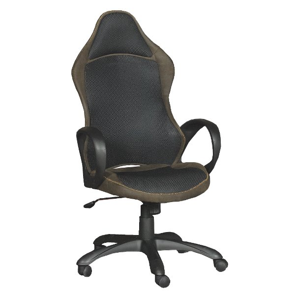 ... Black U0026 Brown Executive Office Chair