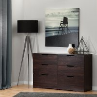 10400 Modern Farmhouse Red-Brown Oak Dresser - Holland