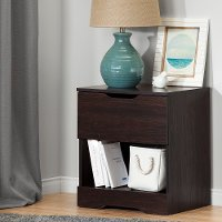 10402 Modern Farmhouse Red-Brown Oak Nightstand - Holland