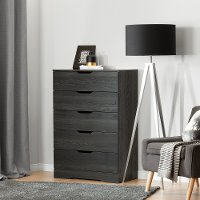 10396 Modern Farmhouse Gray Oak Chest of Drawers - Holland