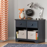 10206 Blueberry Double Nightstand - Summer Breeze