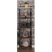 24 Inch Contemporary Bookcase - Steampunk