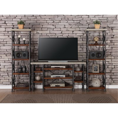 modern contemporary entertainment centers wall units diy center plans piece with fireplace