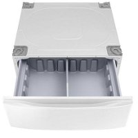 KIT Samsung White12 Inch Storage Pedestal