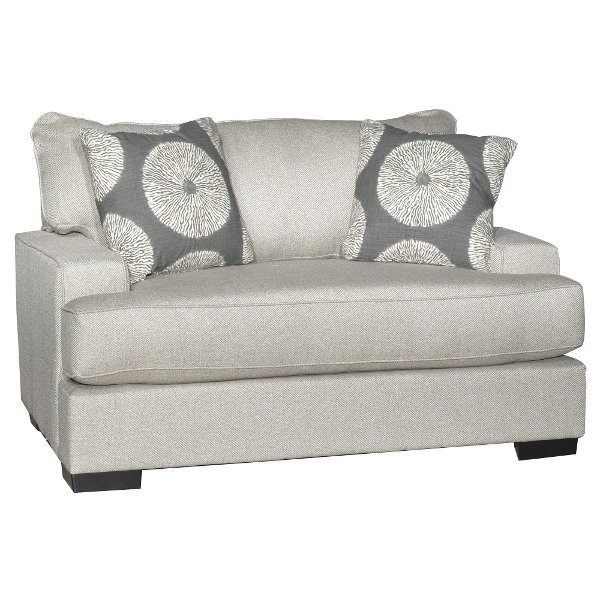 Amazing ... Casual Contemporary Flax Gray Chair   Raven