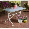 Impressive Katie Galvanized Table