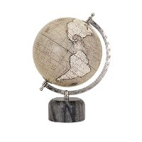 Chic Rada Globe with Marble Base - Globes Collection