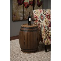 Barrel Side Table - Napa