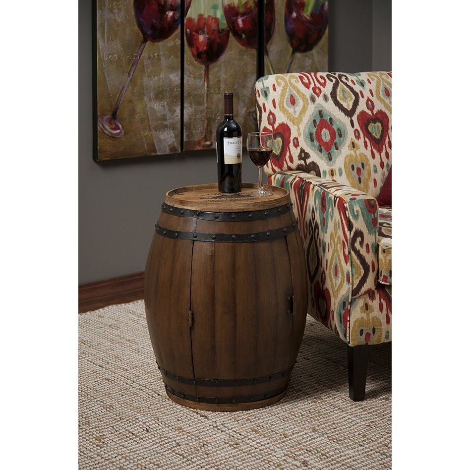 Napa Barrel Side Table | RC Willey Furniture Store