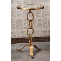 Stacking Chain Accent Table