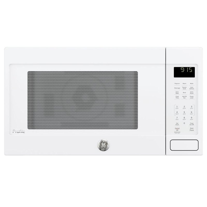 Peb9159djww Ge Profile Series 1 5 Cu Ft Convection Countertop Microwave Oven White