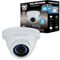 CAM-HDA10W-DMA Night Owl Add-On Wired Security Dome Camera 1080p - Audio Enabled