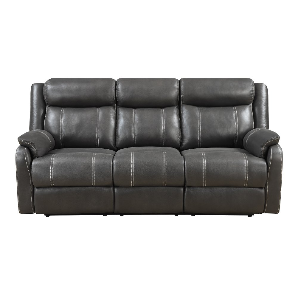 Valor Carbon Black Dual Reclining Sofa - Domino | RC Willey Furniture Store  sc 1 st  RC Willey & Valor Carbon Black Dual Reclining Sofa - Domino | RC Willey ... islam-shia.org