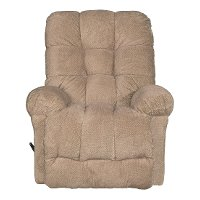 Camel Tan Manual Rocker Recliner - Everlasting