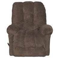 Chocolate Brown Manual Rocker Recliner - Everlasting