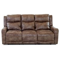 Bozeman Silt Brown Power Reclining Sofa - Barnett