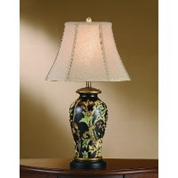 Hand Painted Grass Pattern Table Lamp