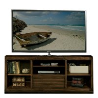68 Inch Acacia Brown TV Stand - Modern Gathering