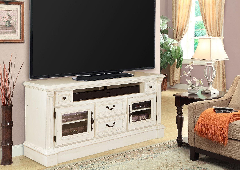 transitional burnished white entertainment center fremont rc willey furniture store. Black Bedroom Furniture Sets. Home Design Ideas