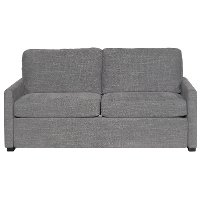 Preston Charcoal Gray Queen Sofa Bed - Boca