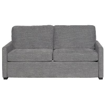 Preston Charcoal Gray Queen Sofa Bed Boca