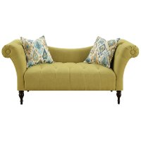 Traditional Lime Settee - Lucille