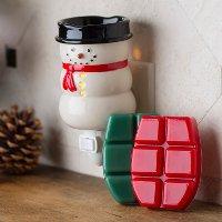 PISMA-C2/SNWMAN/PLUG Snowman Pluggable Warmer Holiday Gift Set - Candle Warmers