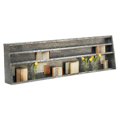 magnolia home furniture metal assemblage wall shelf