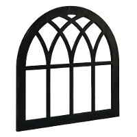 Magnolia Home Furniture Black Cathedral Window Frame Wall Decor