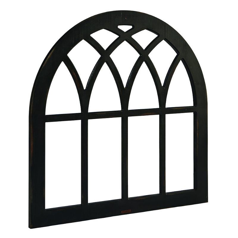 Magnolia Home Furniture Black Cathedral Window Frame Wall Decor Rc