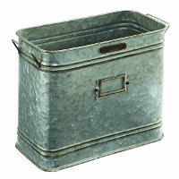 Magnolia Home Furniture Metal Bucket with Handles