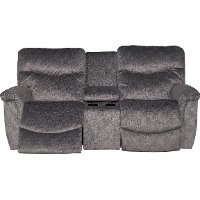 49P-521D143356/PCNLV Graphite Gray La-Z-Time Power Full Reclining Loveseat - James