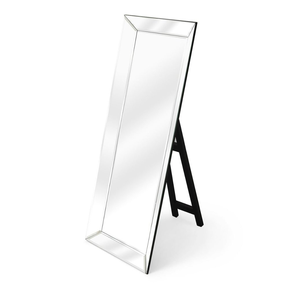 Standing Floor Mirror with Black Easel | RC Willey Furniture Store