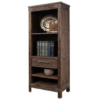 6268-882 Rustic Brown Bookcase - New Castle