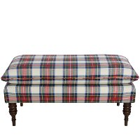 Stewart Dress Multi Pillow Top Bench