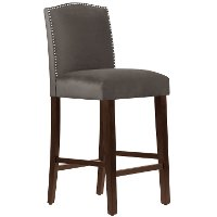 64-8NB-SVMSTCSM Mystere Cosmic Nail Button Back - Bar Stool