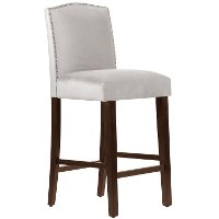 64-8NB-PWMSTDV Mystere Dove Nail Button Back - Bar Stool