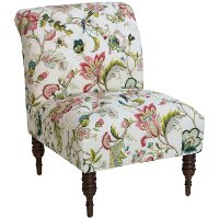 6405BRSJWL Brissac Jewel Traditional Tufted Chair
