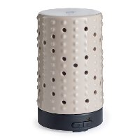SDSPR/DOT/DIFFUSER Airome Cream Raised Dot Ultrasonic Oil Diffuser - Candle Warmers