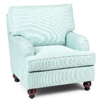 1676/KEELEY-MINERAL Mineral Blue Accent Chair - Keeley