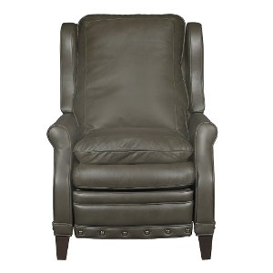 ... Dark Gray High-Leg Power Leather Recliner - Legends ...  sc 1 st  RC Willey & Leather Recliners - Chairs - Living Room - RC Willey islam-shia.org