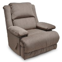 Khaki Power Rocker Recliner - Kingston