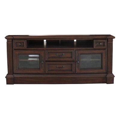 65 Inch Umber Brown TV Stand - Franklin