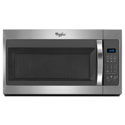 Wmh31017fs Whirlpool 1 7 Cu Ft Over The Range Microwave Oven Stainless