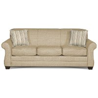 Flax Tan Queen Sofa Bed Maverick Rc Willey Furniture Store