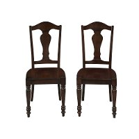 Bourbon Dining Chair Pair - Country Comfort